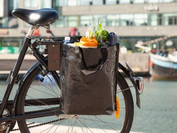 Bikezac Pyörälaukku Musta