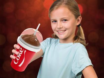 Chillfactor Slushyn Valmistuskone Coca Cola
