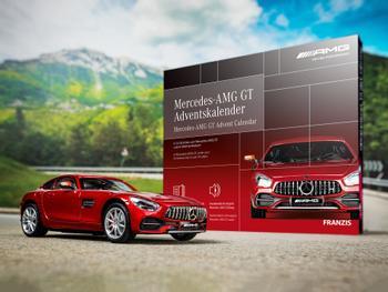 Mercedes-AMG GT Joulukalenteri